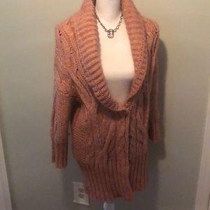 Amazing Rose Chunky Knit Cardi